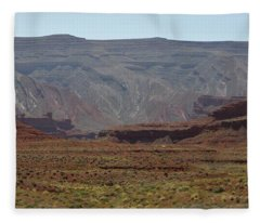 Mexican Hat Rock Fleece Blanket