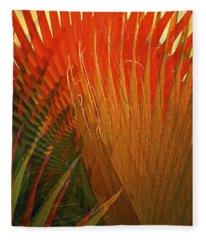 Mexican Palm Fleece Blanket
