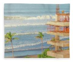 Mexico Rising Fleece Blanket