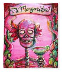 Mi Margarita II Fleece Blanket