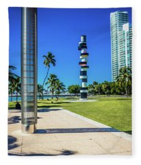 Miami Beach Series 4497 Fleece Blanket