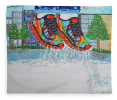 Mia's Water Sport Fleece Blanket