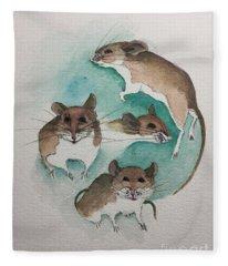 Mice Fleece Blanket
