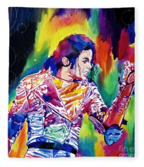 Michael Jackson Showstopper Fleece Blanket