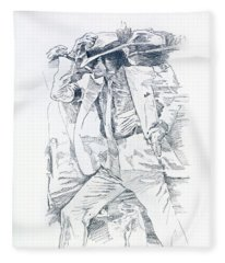 Michael Smooth Criminal II Fleece Blanket
