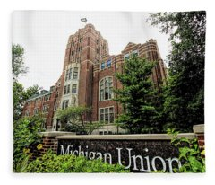 Michigan Union Fleece Blanket