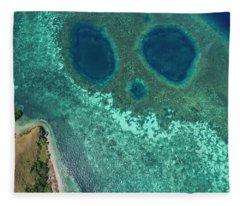 Fleece Blanket featuring the photograph Mickey Mouse Beach Of Flores Island by Pradeep Raja PRINTS