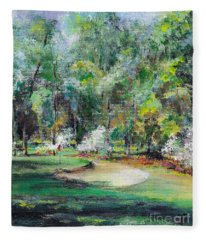 Mid Pines Nc Fleece Blanket