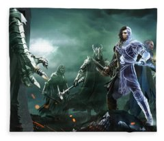 Middle-earth Shadow Of War Fleece Blanket