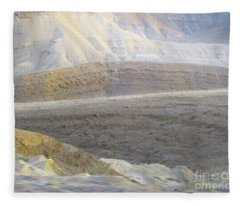 Middle East Terrain Fleece Blanket
