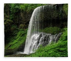 Middle Falls Fleece Blanket