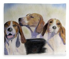 Middleburg Hounds Fleece Blanket