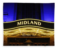 Midland Theater Fleece Blanket