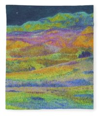 Midnight Magic Dream Fleece Blanket