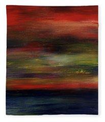 Midnight Moonlight Fleece Blanket