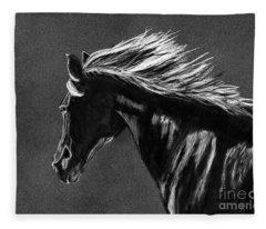 Midnight Ride Fleece Blanket