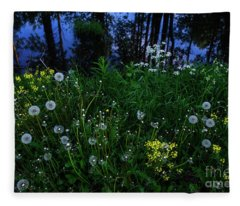 Midsummer Night's Magic Fleece Blanket