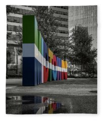 Midtown Atlanta Fleece Blanket