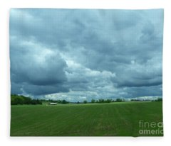 Midwestern Sky Fleece Blanket