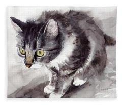 Mike Mice Catcher Fleece Blanket