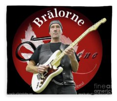 Mike Of Bralorne  Fleece Blanket