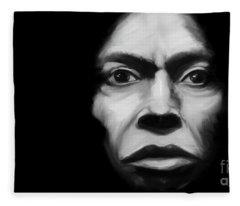 Miles Davis Tutu Fleece Blanket