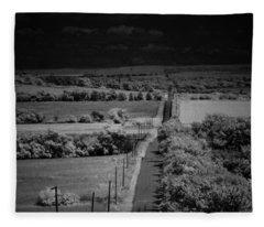 Miles To Explore Fleece Blanket