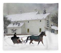 Milk Run Fleece Blanket