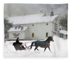 Milk Run Fleece Blanket