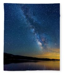 Milky Way 6 Fleece Blanket
