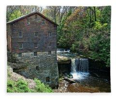 Mill Fleece Blanket