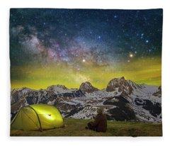 Million Star Hotel Fleece Blanket