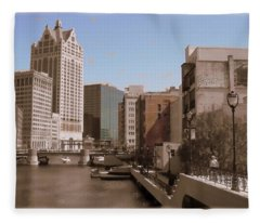 Milwaukee Riverwalk Fleece Blanket