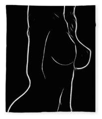 Mind Art Dreaming  Fleece Blanket