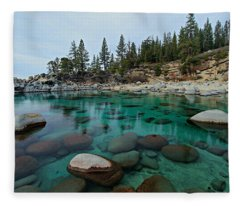 Mind Blowing Clarity Fleece Blanket