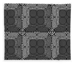 Mind Games 3d 3b 2 Fleece Blanket