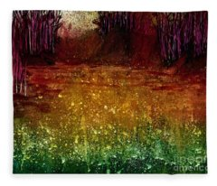 Mindfulness 2  Fleece Blanket