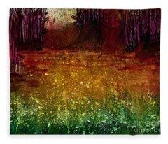 Mindfulness 2  Fleece Blanket