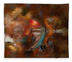 Minds Eye Fleece Blanket