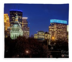 Minneapolis Basilica Fleece Blanket