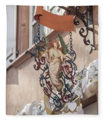 Mireille Oster Pain Depices Sign 01 Fleece Blanket