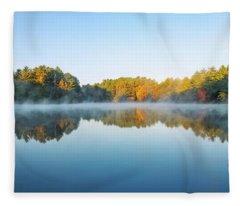 Mirrors Fleece Blankets