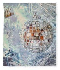 Mirror Tree Ornament Fleece Blanket