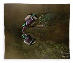 Mirror,mirror.. Fleece Blanket