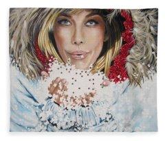 Remarkable Russian Girl.            From The Attitude Girls  Fleece Blanket