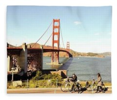 Missed You A Lot San Francisco Fleece Blanket