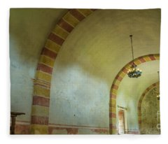The Granary At Mission San Jose  Fleece Blanket