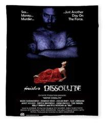 Mister Dissolute Poster A Fleece Blanket