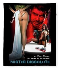 Mister Dissolute Poster B Fleece Blanket