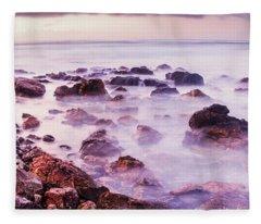 Misty Bay Fleece Blanket